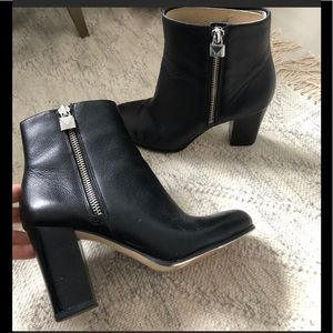 MICHAEL Michael Kors Frenchie Ankle Bootie Black